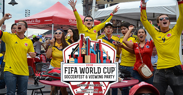 2018 FIFA World Cup Soccerfest and Viewing Party